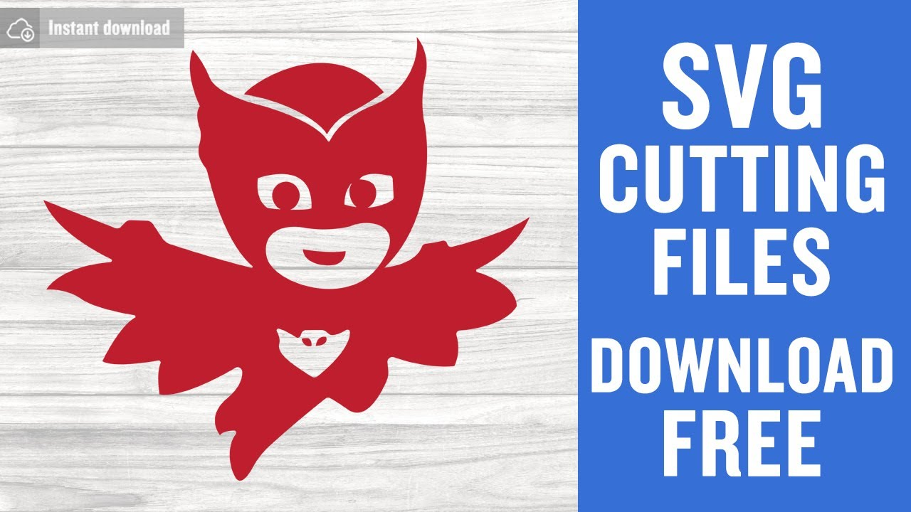 Pj Masks Owlette Free Svg Cutting Files For Cricut Youtube