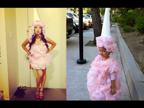 Diy cotton candy costume halloween 2015 nanci youtube diy cotton candy costume halloween 2015 nanci solutioingenieria Choice Image