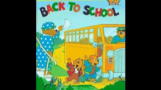 The Berenstain Bears BACK TO SCHOOL Read Along Aloud Story Audio Book