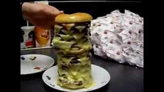 crazy japanese video terra mega humongous burger say what now