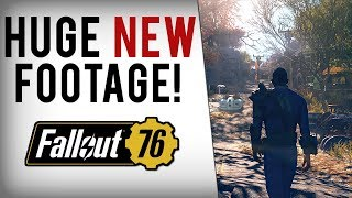 FALLOUT 76 NEW Gameplay Footage & Info Breakdown! Mutations, Crafting, End Game Content & More!