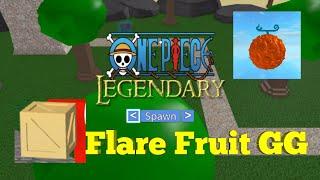 RARE BOX Flare Fruit GG-One Legendary-Roblox Piece