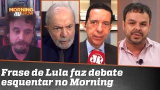 """Lula defende Estado como solução: """"Ainda bem que a natureza criou o monstro do coronavírus"""""""