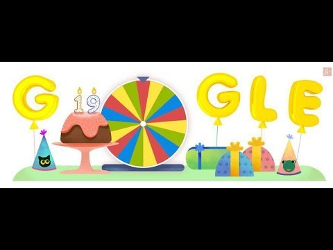 How to play google birthday surprise spinner