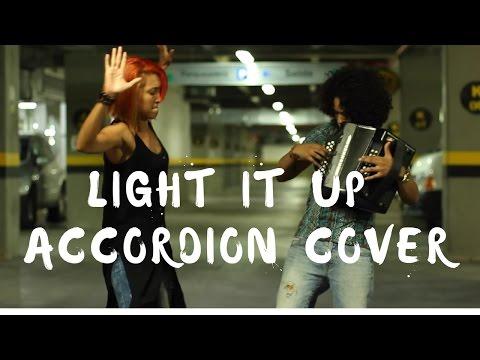 Light it Up - Major Lazer Dance - Accordion cover Mulett