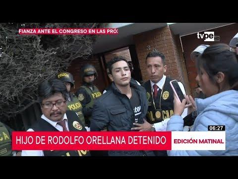Detienen A Hijo De Rodolfo Orellana Por El Presunto Delito Tráfico Ilícito De Drogas