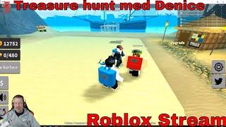 Treasure hunt med Denice - Roblox - STREAM