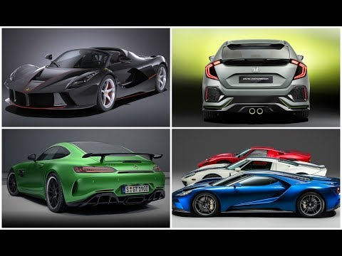 Best Upcoming Cars 2017  || HT High Technology || Latest Technology 2018