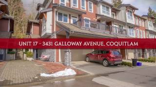 Unit 17 - 3431 Galloway Avenue, Coquitlam
