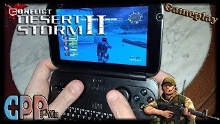 GPD Win (Conflict Desert Storm 2) [Gameplay] [Config game & gamepad] [Games Low Spec 60fps]