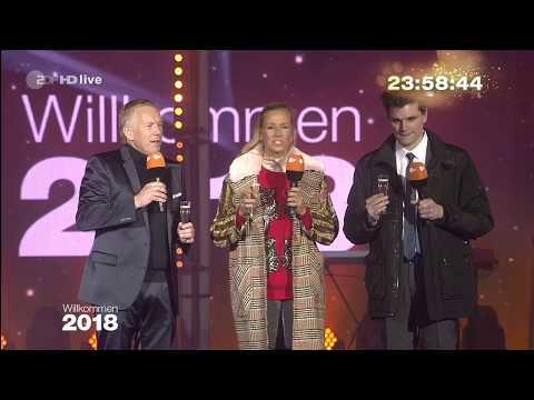 Willkommen 2018 - ZDF HD - Berlin 01 JANUARY 2018