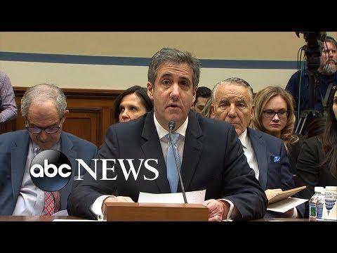 Michael Cohen's opening testimony | ABC News