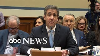 Michael Cohen's opening testimony | ABC News