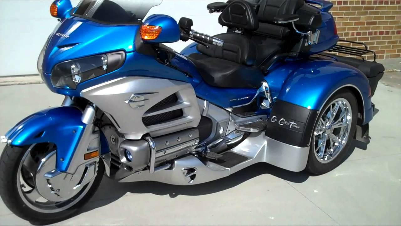 Sold! 2012 Honda Goldwing Adventure Trike - YouTube