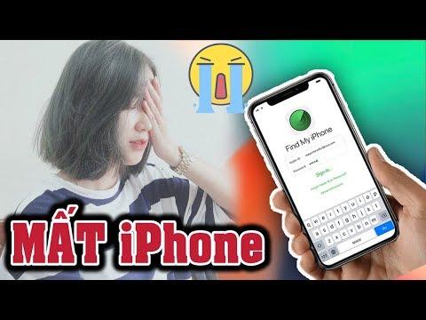 Làm gì khi bị mất iPhone iPad – Lost iPhone