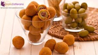 Fried Stuffed Olives Ascolana Style ( Olive All'ascolana ) Italian Recipe