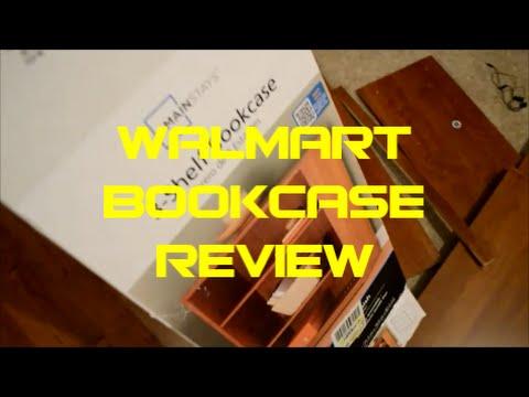 Walmart 3 Shelf BookCase Review Ameriwood Mainstays Gaming Room Setup Upgrade