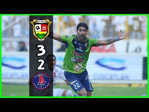 Santa Tecla FC [3] vs. Alianza FC [2] FULL GAME: Final ES Apertura 2016 : 12.18.2016