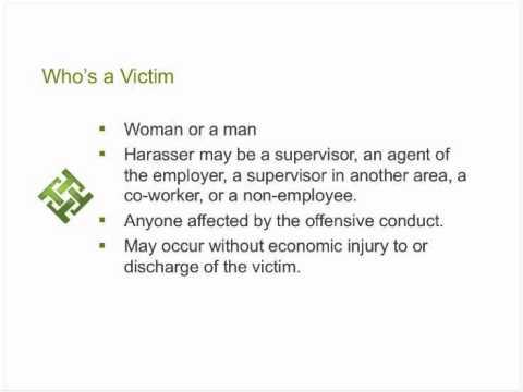 Harassment & Discrimination: Understanding Leads to Prevention