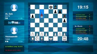Chess Game Analysis: Houssem90 - AL Dyb : 1-0 (By ChessFriends.com)