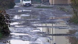 видео У Коломиї зіткнулись дві автівки