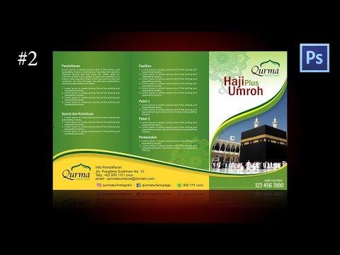 Tutorial design brosur Haji dan Umroh di Coreldraw #2