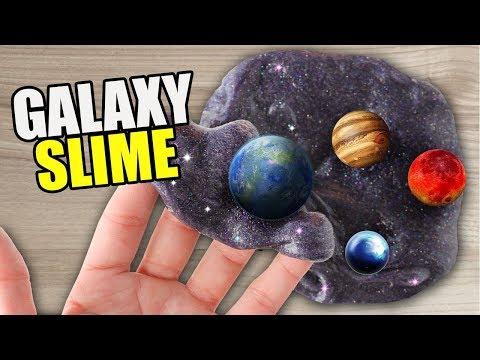 GALAXY SLIME! Cu Planete!!!