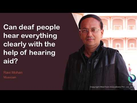 Blee Aware: What do the deaf feel about hearing aids?