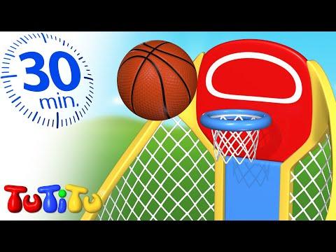 TuTiTu Sports | Basketbal | 30 Minutes TuTiTu Special