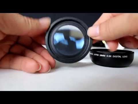 Wide Angle + Macro Lens 50mm | Video Test