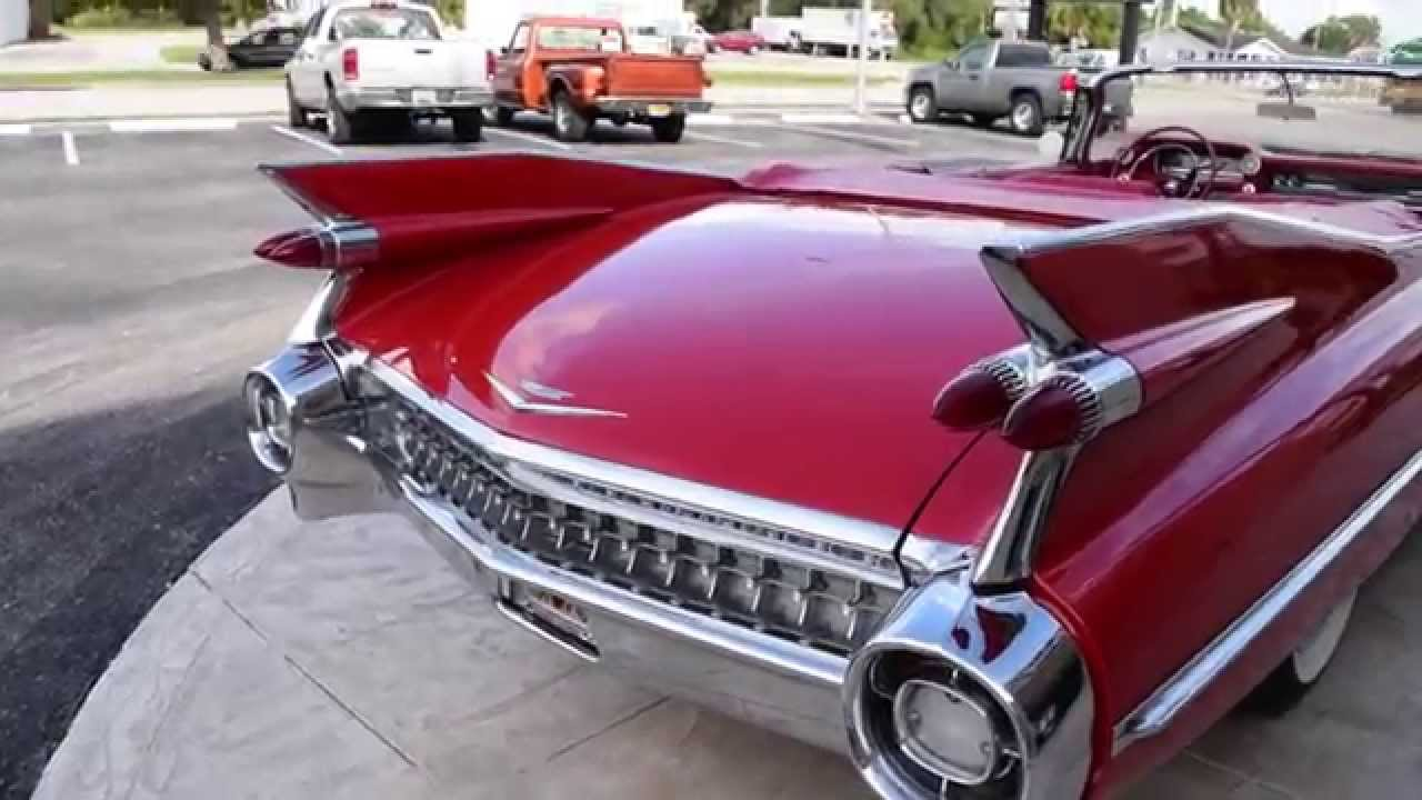 Walk Around Start 1959 Cadillac Series 62 Convertible 2400 Youtube