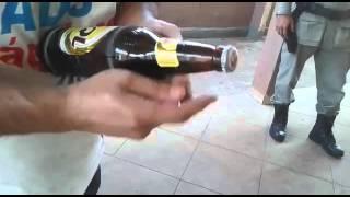 PMGO descobre adulteração de cerveja Skol