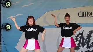 vs 福岡ソフトバンクホークス24回戦 試合前ステージから.
