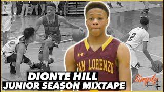 Dionte Hill SHIFTY PG Out of San Lorenzo HS | Junior Season Mixtape #Dermfam thumbnail