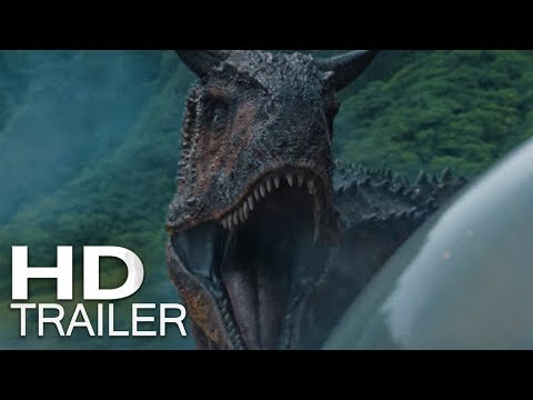 JURASSIC WORLD: REINO AMEAÇADO | Trailer (2018) Legendado HD thumbnail
