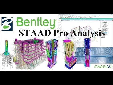 STAAD PRO -  Analysis And Design