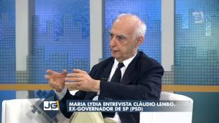 Jornal da Gazeta - Maria Lydia entrevista Cláudio Lembo, ex-governador de SP (PSD) (31/03/14)