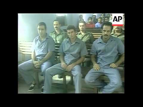 CUBA: TRIAL - TRANSPORTERS OF ILLEGAL IMMIGRANTS