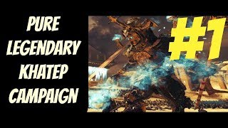 Pure Legendary Khatep Mortal Campaign #1 (Tomb Kings) -- Total War: Warhammer 2