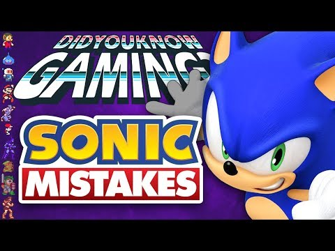 Mistakes In Sonic Games - Did You Know Gaming? Feat. Remix