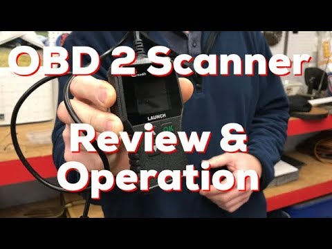 Launch Creader CR319 OBD Scanner - Review & Operation