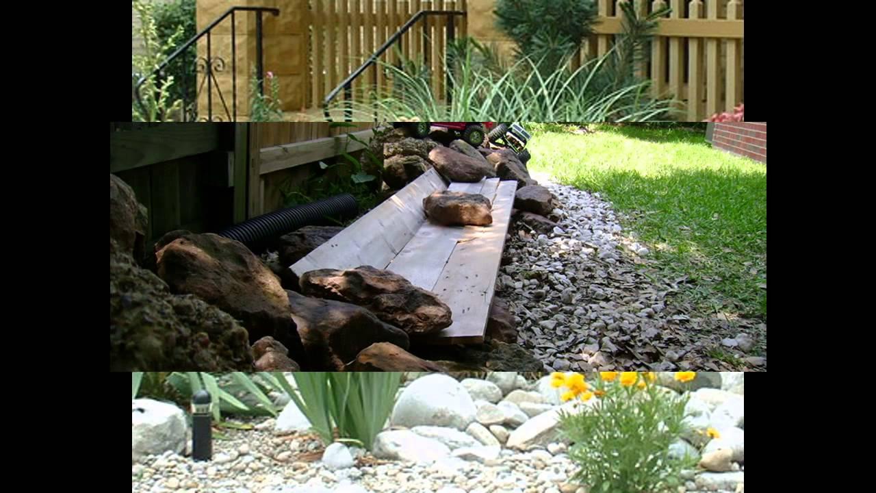 garden ideas backyard rock garden youtube