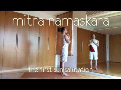 Ahimsa Yoga - Sept2014 - 1 - Mitra Namaskara