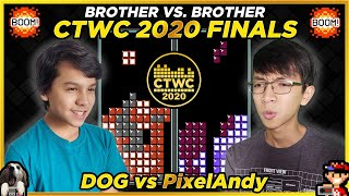 2020 Classic Tetris World Championship GRAND FINAL!