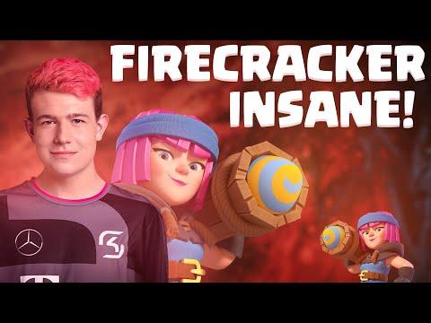 2.8 MINER CYCLE! FIRECRACKER = INSANE - Clash Royale