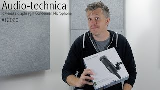 Audio Technica AT 2020 microphone - A tight and punchy mic offering a different flavour sub £100