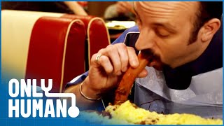 Beating the 2,000,000 Calorie Buffet (Eating Competition Documentary)| Only Human