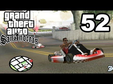GTA San Andreas | GO KART RACING! #52