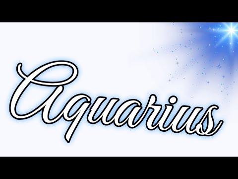 Aquarius ♒️ they
