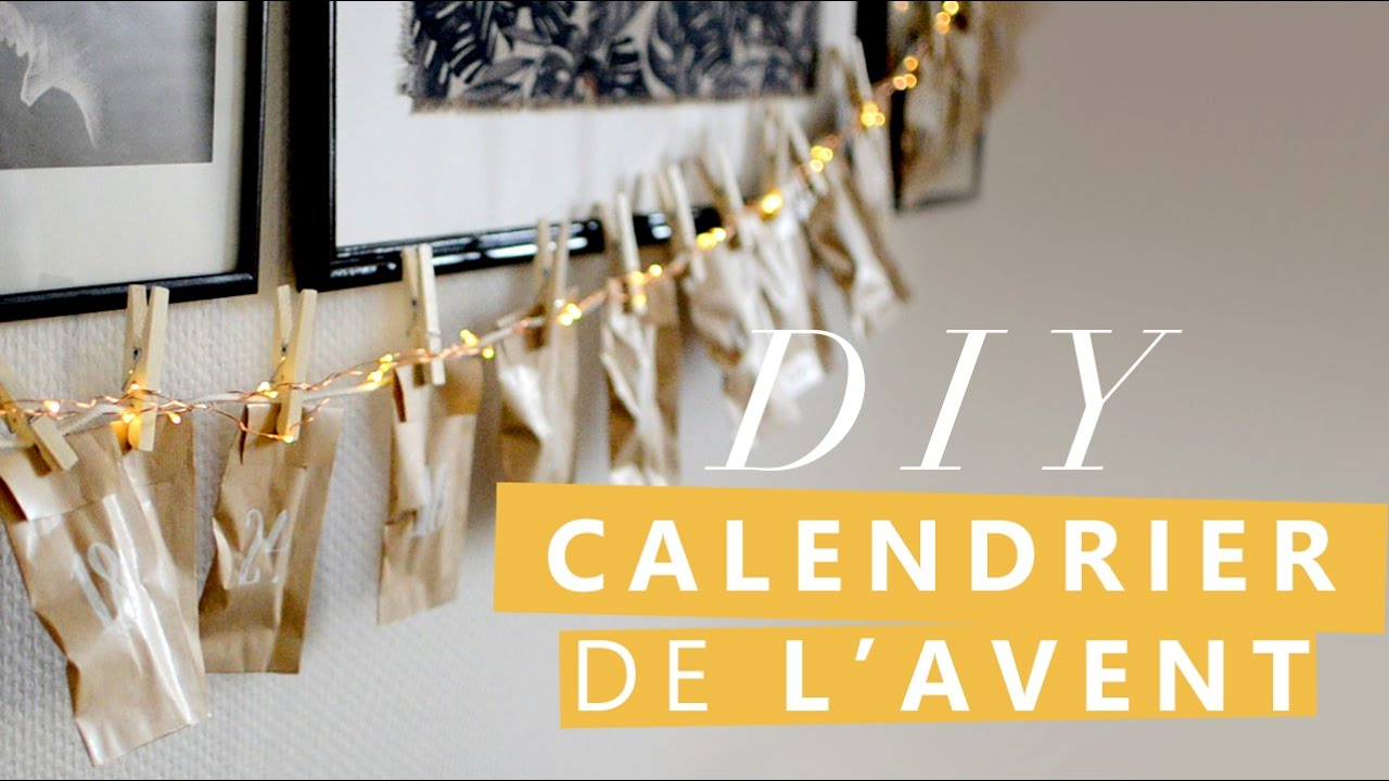 jour 1 comment faire un calendrier de l 39 avent tuto diy. Black Bedroom Furniture Sets. Home Design Ideas